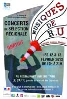 1302 - Musique de RU 2013